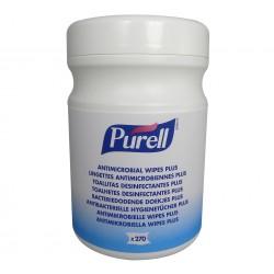 PURELL® antimikrobiális törlőkendő, 270 db-os tégely