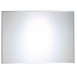 Fali, rozsdamentes acél tükör, vandálbiztos, 600 * 400 mm