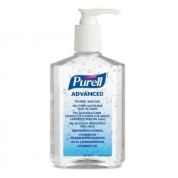 PURELL Advanced kézfertőtlenítő gél, 70% etanol, asztali pumpás flakon, 350 ml
