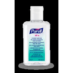 PURELL VF+ erős széles hatásspektrumú, erős virucid hatású kézfertőtlenítő gél kézi, hordozható, kupakos flakon, 100 ml