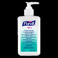 PURELL VF+ erős széles hatásspektrumú, erős virucid hatású kézfertőtlenítő gél asztali pumpás flakon, 300 ml