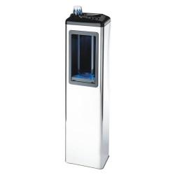 FUTURA 80 hűtött vizes ivókút, nyomógombos vezérlésű, rozsdamentes acél, 230 V, 3M szűrőszettel