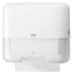 553100 Tork műanyag mini Z és C hajtogatású kéztörlő adagoló, fehér (H3 rendszer)