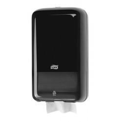 556008 Tork műanyag hajtogatott toalettpapír adagoló, fekete (T3 rendszer)