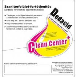 Dodacid kísérőmatrica (tekercses)