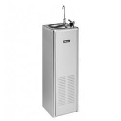 Hűtött vizes ivókút, nyomógombos vezérlésű, 74 l/h, rozsdamentes acél